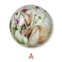 ZEN Mangkuk Spring Bunny - Hijau diameter 17 cm (3 Tipe Varian)