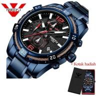 PROMO NIBOSI 2335 Mens Watches Waterproof Quartz Men Sport Watch Blue