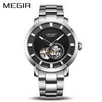 PROMO MEGIR 2052 Automatic Mechanical Watch Men Stainless Steel