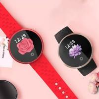 PROMO SKMEI B36 Smart Watch Women Period Reminder HeartRate Waterproof