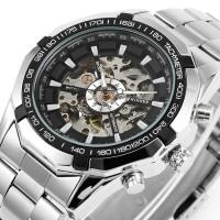 PROMO Winner F1205158 Automatic Skeleton Mens Top Brand Luxury Fashion