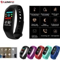 """PROMO LEMFO 3297 Smartband 0.96 """"Layar Berwarna Anti Air IP67 Monitor"""