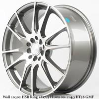 velg mobil (vip) Wall 10302 HSR Ring 18x7,5 H10x100-114,3 ET38 Grey Ma