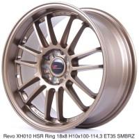 velg mobil REVO XH010 HSR R18X8 H10X100-114,3 ET35 SMBRZ