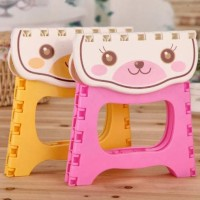 Kursi Lipat Mini Plastik Anak Serbaguna Foldable Chair Portable -