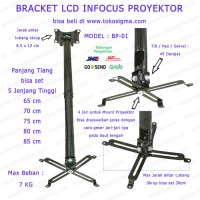 CEILING BRACKET BP-01 FOR INFOCUS LCD PROYEKTOR PROJECTOR