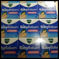 Boom Sale Vicks Baby Balsam Exp July 2019