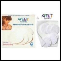 Promo Avent Washable Breastpad (Avent Naturally)
