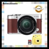 Harga new fujifilm x a3 fuji x a3 xa3 kit 16 50mm kamera mirrorless   Pembandingharga.com