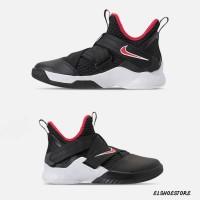 Sepatu Nike Lebron Soldier 12 Bred Black Red White