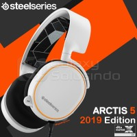 Steelseries Arctis 5 2019 - 7.1 Surround RGB Gaming Headset - White