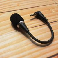 Mini Portable Microphone Laptop Netbook PC Handphone Kamera HP Mic