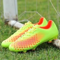 Sepatu Bola Desain Nike Spike Ukuran 31 45 Warna Hijau
