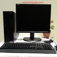 Paket Komputer Lenovo ThinkCentre M93p Desktop Corei5 - LED 19""