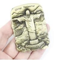 Souvenir Suvenir Fridge Magnet Tempelan Kulkas Negara Brazil Brasil