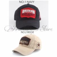 Topi Baseball Caps Import American 2 Warna   Jual Aksesoris Murah 76b1f01312