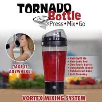 Botol Tornado bottle Press Mix Go / Shaker Automatis 450ml Shaker