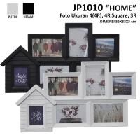 Bingkai Plastik / Frame JP1010 Home uk foto 4 (4R), 4R Square dan 3R