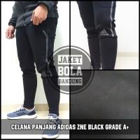 CELANA PANJANG ADIDAS ZNE BLACK GRADE A+ | BAHAN MIRIP ORIGINAL