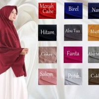 Pet Syar'i Jumbo Uk XL / Pet antem Syar'i XL / Khimar Jumbo XL