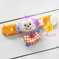 Gelang Tangan Bayi Rattle Bayi - Boneka Rattle Bayi Baby Hand Rattle B
