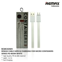 REMAX Container Micro USB Cable - Kabel Data