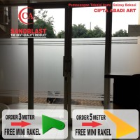 STIKER KACA SANDBLAST L-120 ( WINDOW FILM )