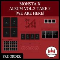 MONSTA X We Are Here Album Vol.2 Take.2