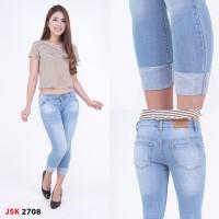 Celana Jeans 7/9 Stik Balik JSK 2708 Big Size