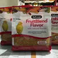 Zupreem fruitblend XS 900gram for canaries n finches etc