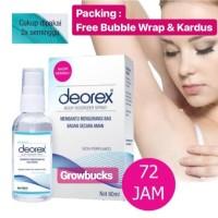 Harga murah stok baru deorex body odorizer spray deodorant bau | antitipu.com