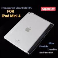 SOFT CASE TPU Transparent Silica Gel Skin Case Back For iPad Mini 4