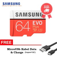 Best Deal - Samsung Evo PLUS 64GB MicroSDHC UHS-I Class 10+SD Adapter