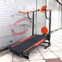 Treadmill Manual 1 Fungsi Murah - Treadmil Alat Olahraga Fitness