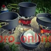 Alat Masak ISI 4 Panci Kemping Gunung\Cooking Set DS301 Camping Outdor
