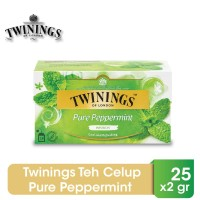 Twinings Teh Celup Pure Peppermint 25x2gr