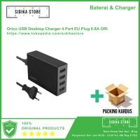 PROMO Orico USB Desktop Charger 4 Port EU Plug 6.8A ORI