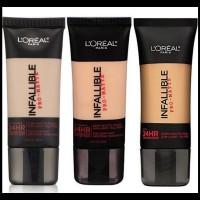 Harga produk terbatas loreal paris infallible pro matte foundation l | Pembandingharga.com