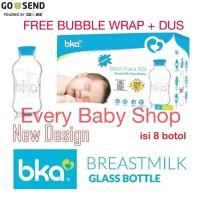 Ekslusif Bka Botol Kaca Asi Isi 8 Botol Baru + Free Bubble Wrap