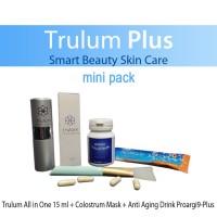 Trulum Plus Skincare Synergy ! Pemutih Wajah Cepat Aman dan Alami 5in1