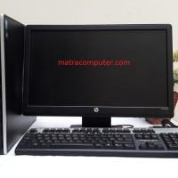 "Paket Komputer HP Compaq Pro 6200 SFF Core i3 - Monitor HP LV1911 19"""