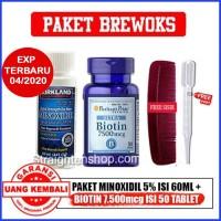 Kirkland minoxidil + Biotin 7500mcg 100% original