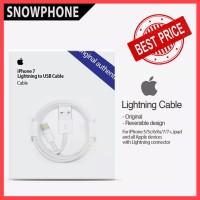 KABEL DATA / LIGHTNING CABLE ORIGINAL 100% FOR APPLE IPHONE IPAD IPOD