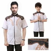 Harga couple baju koko mafno kemeja muslim ayah dan   antitipu.com