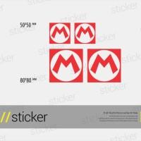Super Mario 02 - Cutting Sticker Stiker Oracal Games 4bcb0ec352