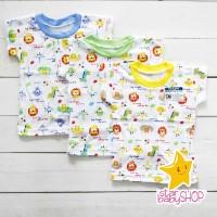 Kaos Anak Oblong Ridges Baju Bayi Harian Anak Karakter Animal