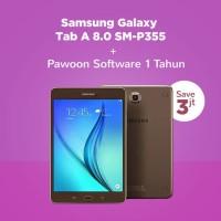 PAKET H - Samsung Galaxy Tab A 8.0 SM-P355 + Pawoon Software 1 Tahun