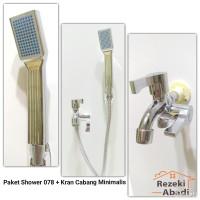 Paket Shower / Shower Mandi / Keran Cabang / Handshower