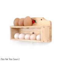 Tempat Telur Rak Telur 2 Susun
