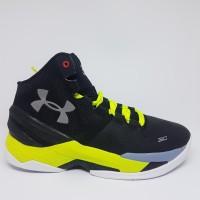 Sepatu Basket UA Curry 2.0 Black Yellow Gray Man Murah - BlackYGray, 41
